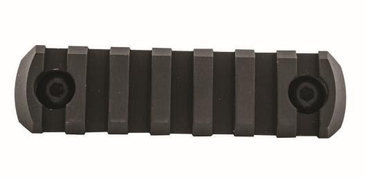 7-Slot Rail Section